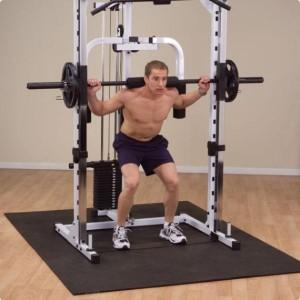 Комплекс упражнений в тренажерном зале