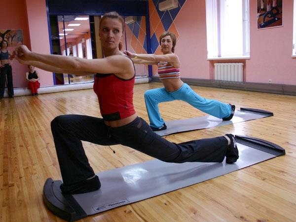 Упражнения, основанные на скольжении