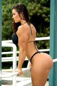 Женский бодибилдинг — упражнения